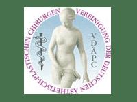 Logo VDÄPC – Dr. med. Brunner, Plastische Chirurgie Hamburg